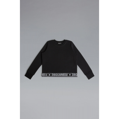 Sweater Logo Tape girls Dsquared2