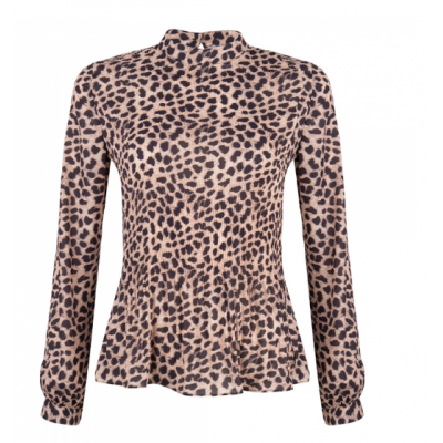 Jacky Luxury Blouse Leopard