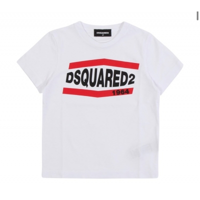 Dsquared2 T-Shirt white/Red