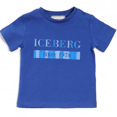 Iceberg T-Shirt Blue