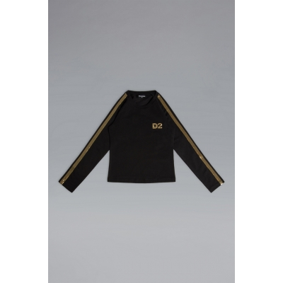 Longsleeve Black Gold Dsquared2