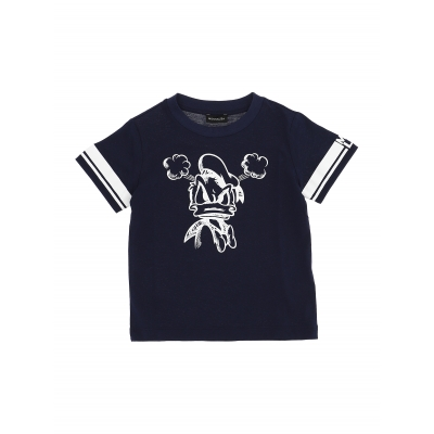 T-shirt Navy Donald boy Monnalisa