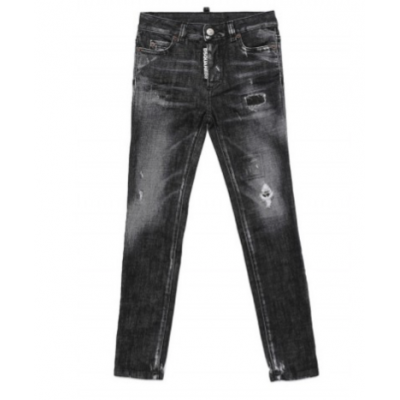 jeans Twiggy black Dsquared2