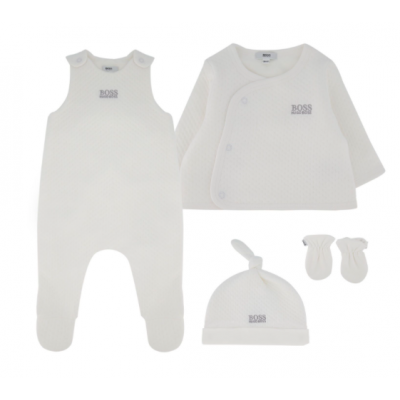Baby set Hugo Boss Wit