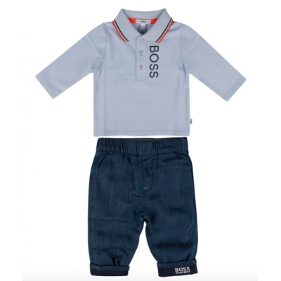 2-delige Set polo met jeans Hugo Boss