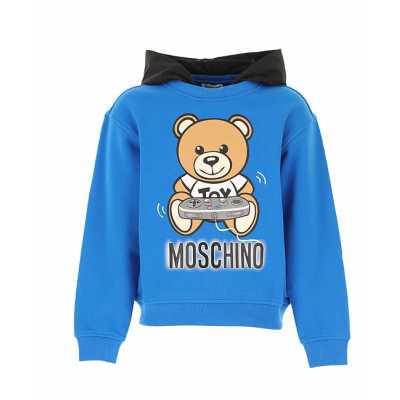 Moschino sweater met capuchon