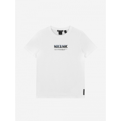 NIK&NIK T-shirt met artwork LENOX T-SHIRT