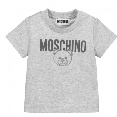 T-shirt Beer grijs Moschino