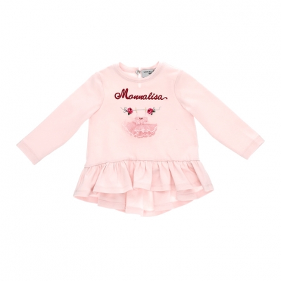 Top / tuniek Roze Monnalisa