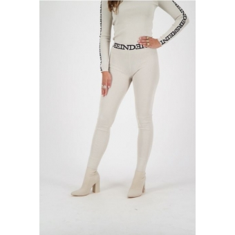 Reinders Pants Lurex Tight Fit Entarsia