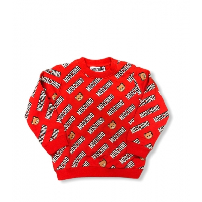 Sweater rood Beer Moschino