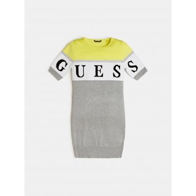 COLOR BLOCK LOGO DRESS Guess