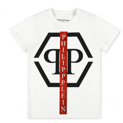 T-shirt White Philipp Plein