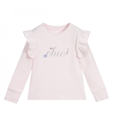 Longsleeve roze chic Lapin House