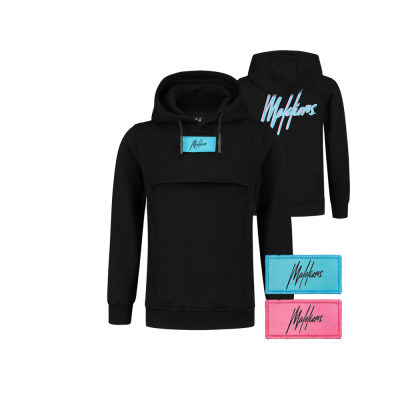 Malelions Junior Velcro Anorak - Black