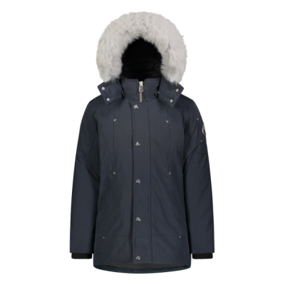 UNISEX PARKA Navy / Natural Fox Fur Moose Knuckles