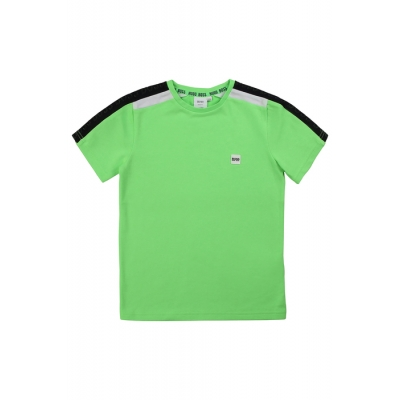 t-shirt Groen Boy hugo boss