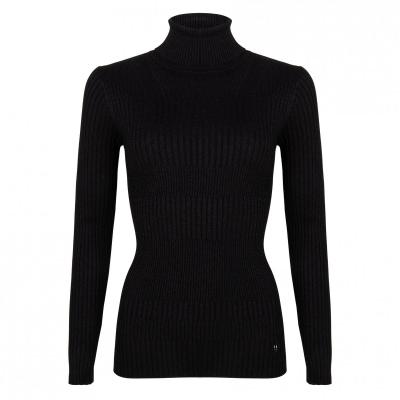 Knit top met col Jacky Luxury