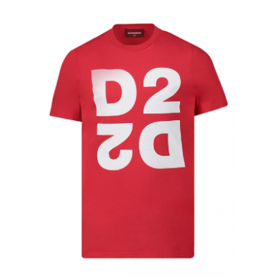 Dsquared2 t-shirt rood