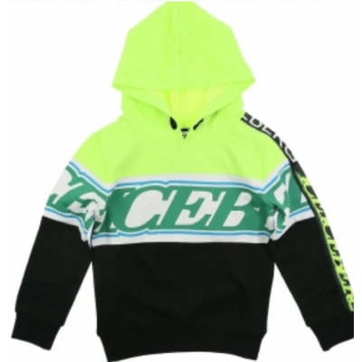 Iceberg Hoodie Black/Green