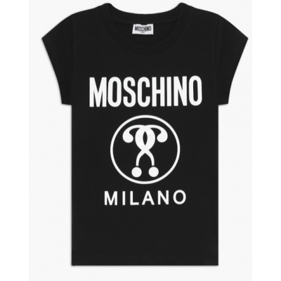 T-shirt Zwart Moschino Girl
