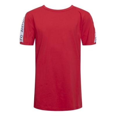 Antony Morato T-shirt Logo Tape Rood