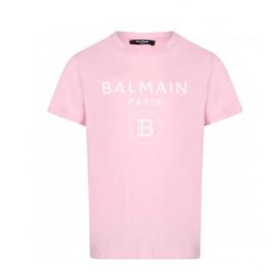 T-shirt Pink Balmain