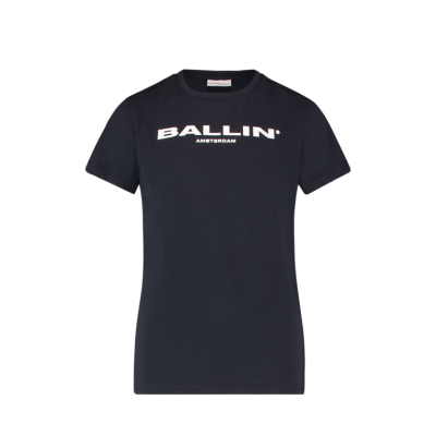 T-shirt Ballin Blue Pure White