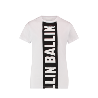 t-shirt Ballin Wit Pure White