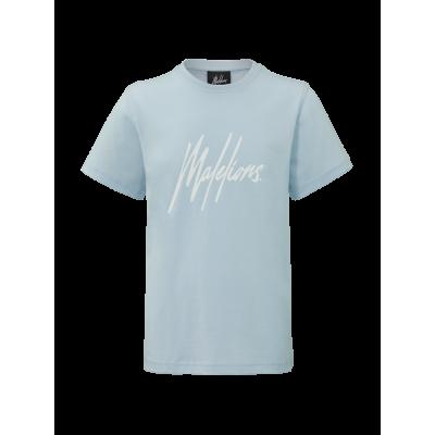 T-shirt Malelions Light blue Signature