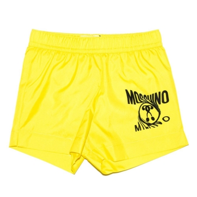 Moschino Zwemshort Yellow