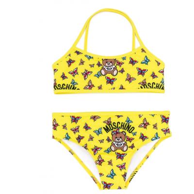 Bikini Geel Moschino