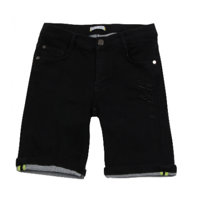 Iceberg jeans short black