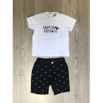 Setje Emporio Armani t-shirt en broekje
