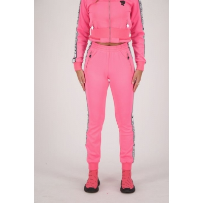 Reinders TRACKING PANTS STRETCH Dames Neon Pink