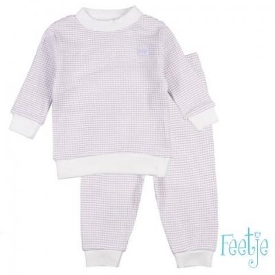 Feetje Wafel pyjama lila