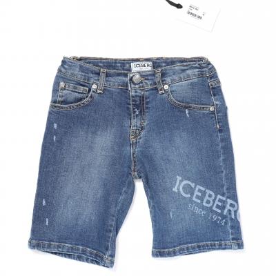 Iceberg Jeans Short Blue
