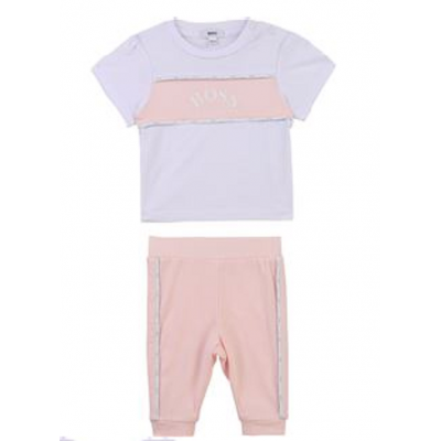 Baby girl set Hugo Boss