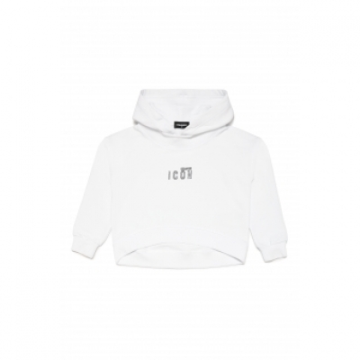 Dsquared2 Cropped hoodie ICON