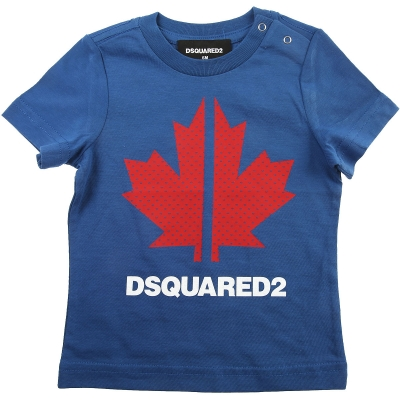 Dsquared2 T-Shirt Blue/red