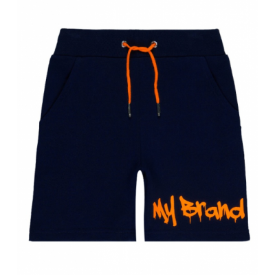 My Brand Short Graffiti Blue