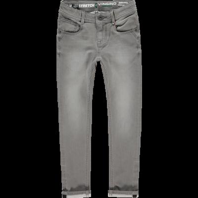 Jeans alfons light grey stretch Vingino