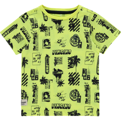 Vingino T-Shirt Hozan Neon Yellow