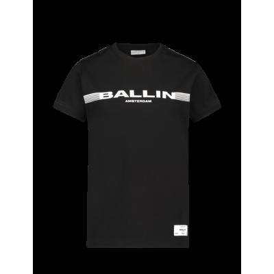 T-shirt Ballin Black