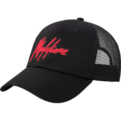Malelions Junior Signature Cap black/red