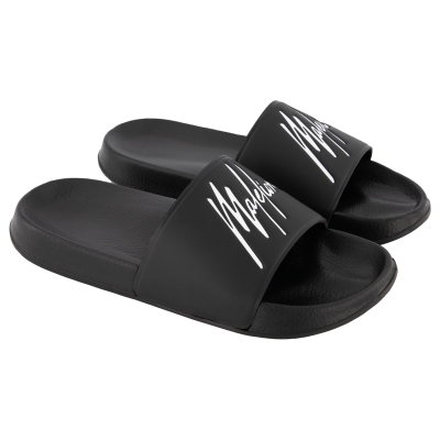 Malelions Junior Slides - Black